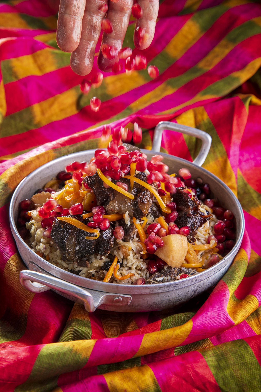 אושפלואו: תבשיל בוכרי חגיגי של אורז ובשר